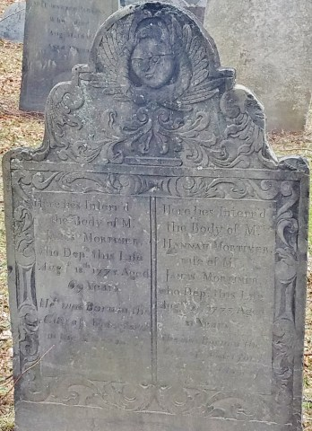 Copp's Hill Gravestone with Angel