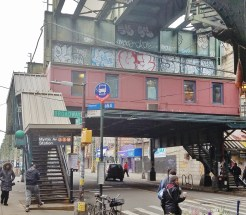 Myrtle Avenue Stop of the J, M and Z Trains
