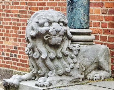 Old North Church Gift Shop Lion Statue