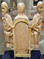 Rear of Opening Madonna Triptych (c. 1180)