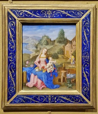 Virgin and Child in a Landscape - German, 16th Century