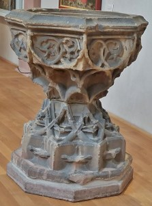 Baptismal Font in the Convent