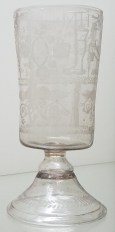 Decorated Drinking Glass