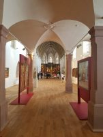 Entering the Room that Contains the Altarpiece
