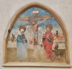 Fresco of the Crucifixion on the Wall of the Convent