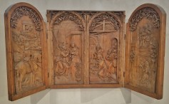 Wooden Altarpiece of the Annunciation and Adoration of the Magi