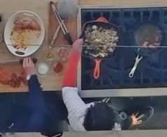 Chef Howard's Demo From Above