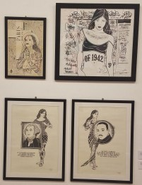 Mike Giant, Paris and Three Untitled