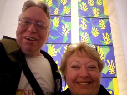 Selfie with Matisse Cut-outs