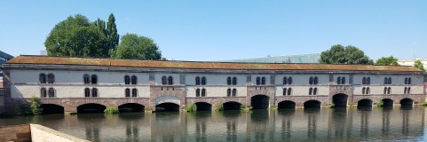 Covered Bridge that Spans the Channels of Petite France, Strasbourg