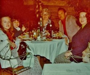 Dinner at Hotel Forum Restaurant 1973