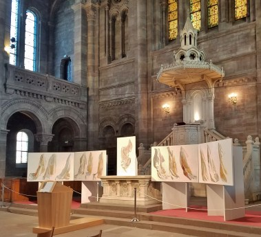Eglise Temple Neuf Altar with Art Installation
