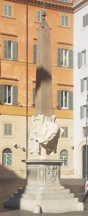 Elephant and Obelisk by Bernini near Santa Maria sopra Minerva