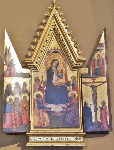 Gothic Altar of Madonna and Child