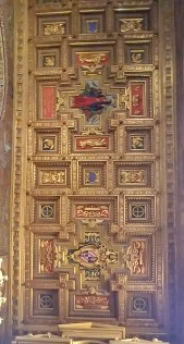 Second Section of Ceiling in Santa Maria in Trastevere