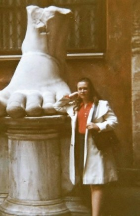 Therese and the Foot circa 1973