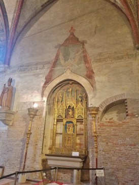 Side Altar of 12th century church, Church of San Zaccaria