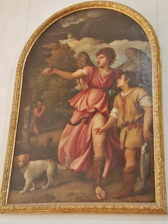 Tobiolo and the Angel by Titian