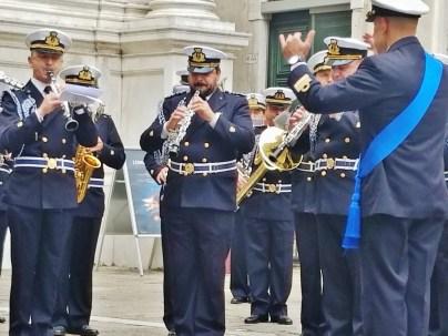 Banda Centrale della Marina Militare Performing in Campo di San Rocco
