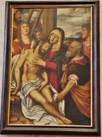 Descent from the Cross by Niccolo Frangipane