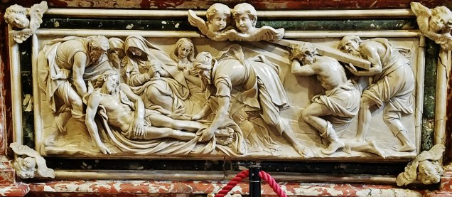 Entombment of Christ by Francesco Cabianca