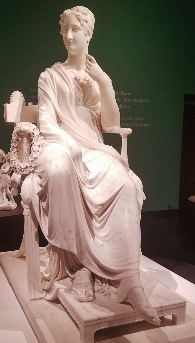 The Muse Polyhymnia by Antonio Canova