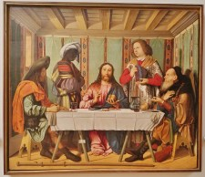 The Supper in Emmaus by Marco Marziale