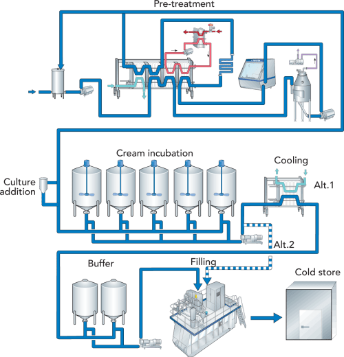 small resolution of fig 11 30 cultured cream processing