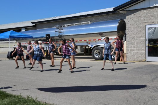 Kali's School of Dance entertained the masses at the 2016 Breakfast on the Farm in Kewaunee County