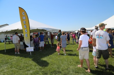 Find and try a variety of cheese at Kewaunee County Breakfast on the Farm!
