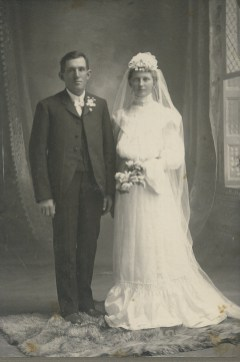 Joseph & Juliet (Everard) Junion (3rd generation Junion Homestead Farm)
