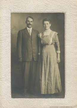 [unknown] couple from the historical records of Junion Homestead Farm (possibly 3rd generation?)