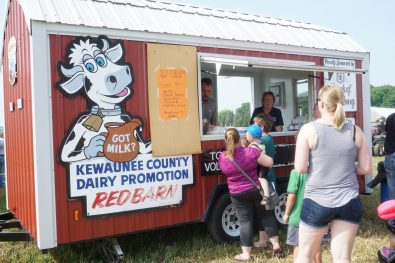 We love the Red Barn! Look for it at the Kewaunee Cty Fair.