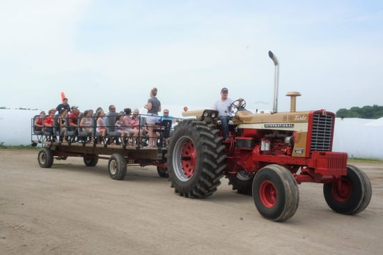 Thank you to our farm tour volunteers! The tours are always a favorite with event guests.