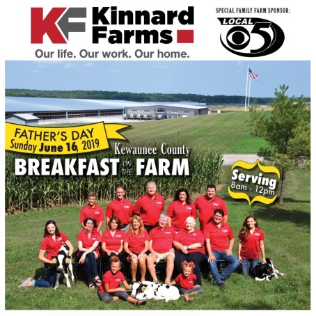 2019 Kewaunee County Breakfast on the Farm - hosted by the Kinnard Family