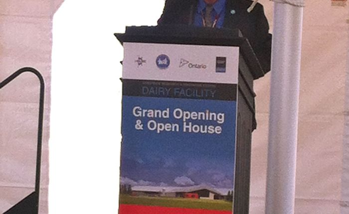 Livestock Research Innovation Centre Grand Opening