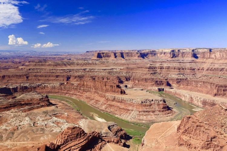 Dead Horse Point State Park. The view from the Dead Horse Point Overlook.