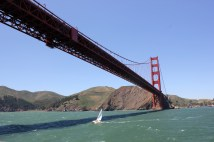 Golden Gate Bridge from Bay Cruise
