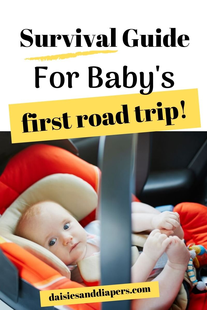road trip packing list for babies