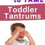 handling toddler tantrums