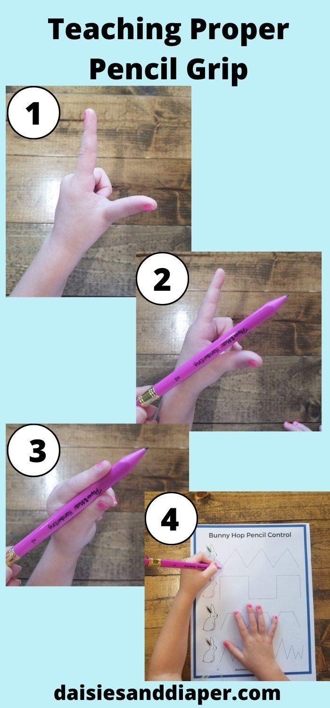 teaching pencil grip