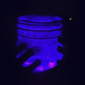 how to make galaxy jars, how to make space jars, how to make fairy jars, glow up galaxy jar instructions