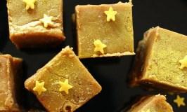 christmas pudding fudge, homemade edible christmas gifts