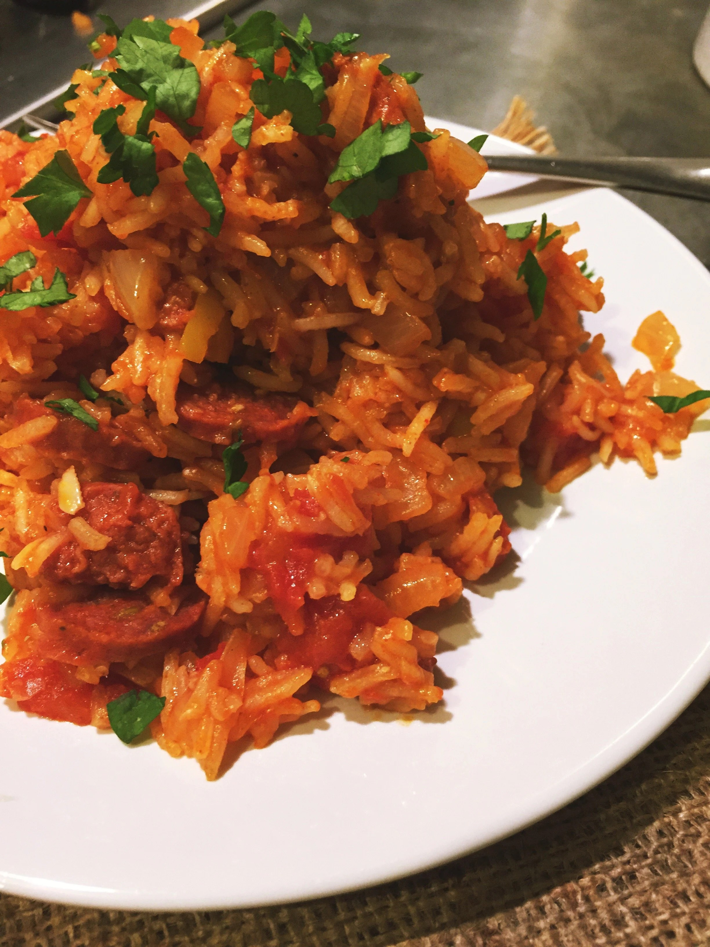 Spanish rice one pot