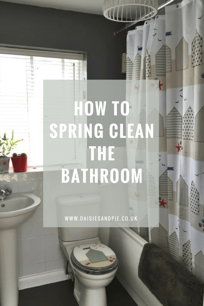 How to spring clean the bathroom, spring cleaning printable, cleaning tips