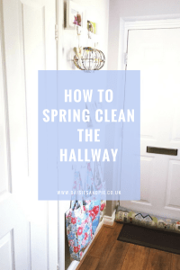 How to spring clean the hallway, hallway cleaning tips, spring cleaning tips, spring cleaning printables