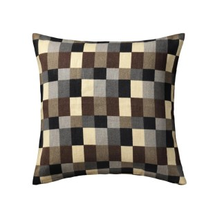 IKEA STOCKHOLM cushion, brown checked cushion, home style from daisies and pie