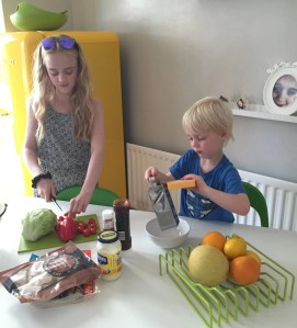 ingredients for mini taco bar, taco topping suggestions, mini taco bar recipe, cooking with kids, easy family food from daisies and pie