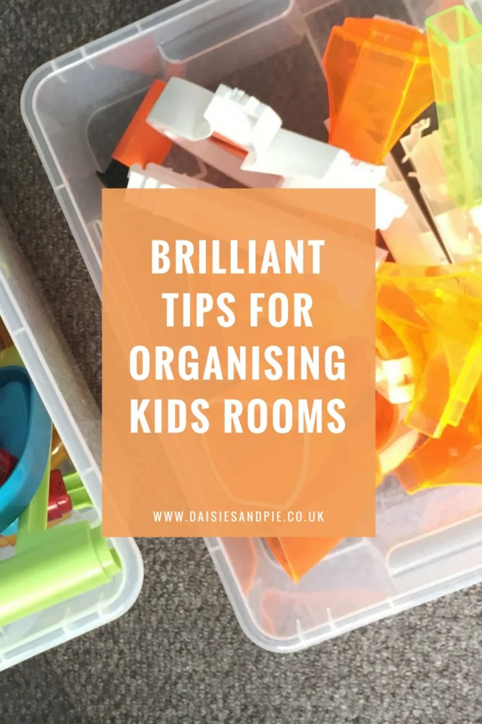 8 brilliant tips for organising kids rooms