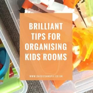 Brilliant tips for organising kids rooms, kids bedroom organisation ideas, homemaking tips